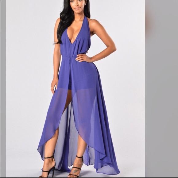 5d1f893909f1 FASHION NOVA Easy flow dress romper - purple